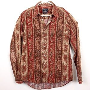 Lucky Brand Men's Corduroy Button Down M